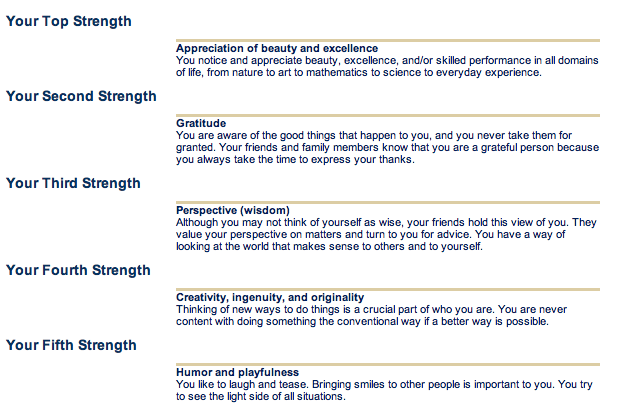 via survey of character strengths pdf