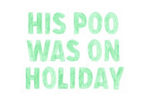 holiday poo