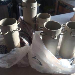Lucy Barfoot skinny vase